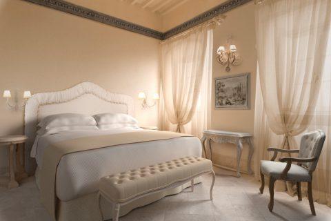 Panoramic view of a Deluxe Room - Monastero di Cortona Hotel & Spa - Hotel Cortona Tuscany